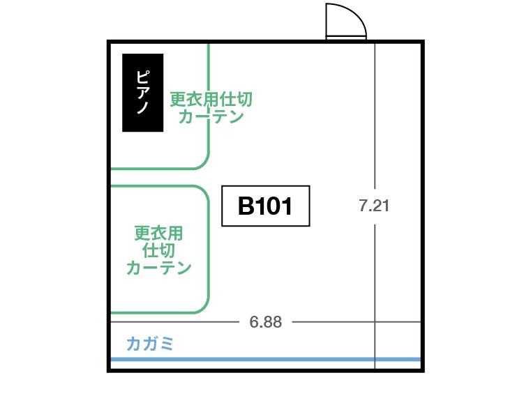 CENTRAL B1F B101