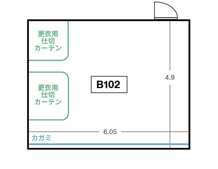 CENTRAL B1F B102