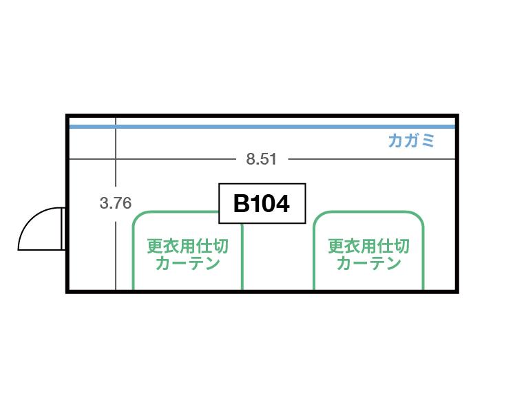CENTRAL B1F B104