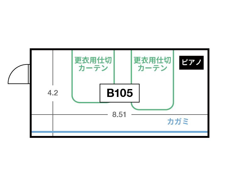 CENTRAL B1F B105