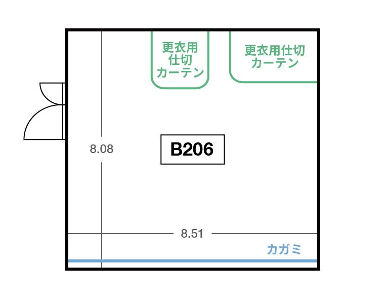 CENTRAL B2F B206