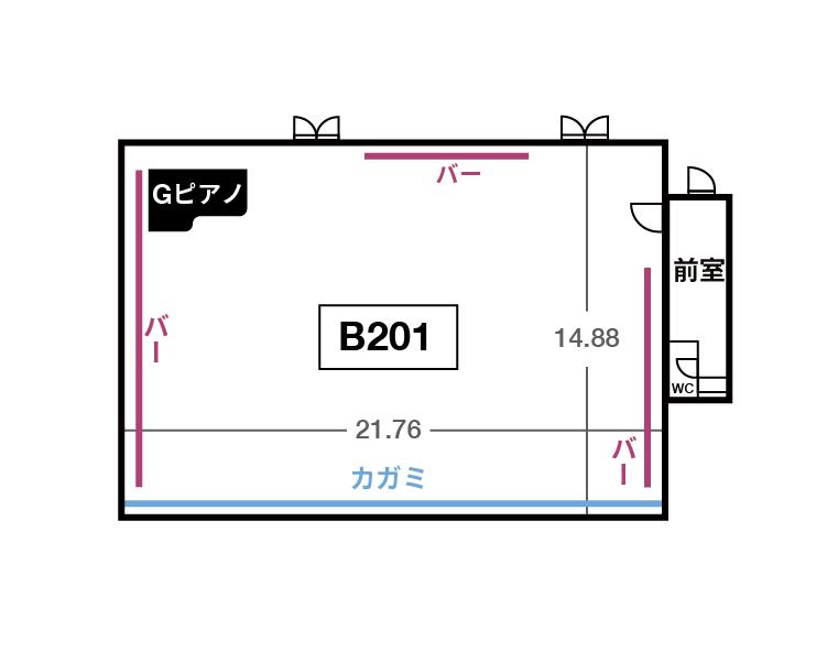 WEST B2F B201